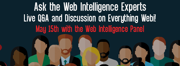 Let's Speak BO Webinar Ask the Web Intelligence Experts – Live Q&A and Discussion on Everything Webi May 15 2018