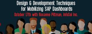 Let's Speak BO Webinar Design and Development Techniques for Mobilizing SAP Dashboards October 17 2017