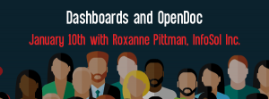 Let's Speak BO Webinar: Dashboards and OpenDoc January 10th 2016