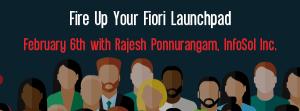 Let's Speak BO Webinar Fire Up Your Fiori Launchpad February 6 2018