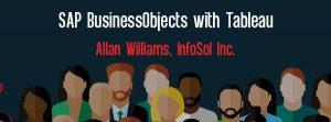 Let's Speak BO Webinar SAP BusinessObjects with Tableau October 16 2018