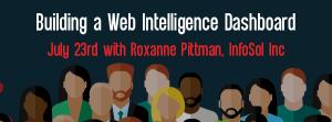 Let's Speak BO Webinar July 23 2019 Building a Web Intelligence Dashboard