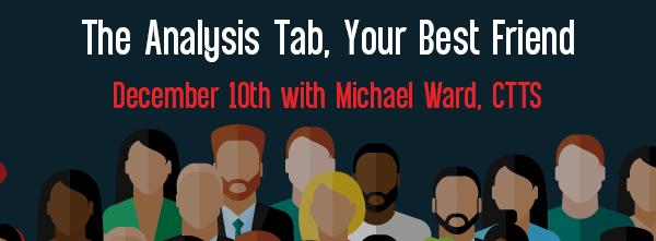 Let's Speak BO Webinar The Analysis Tab, Your Best Friend Decemer 10 2010
