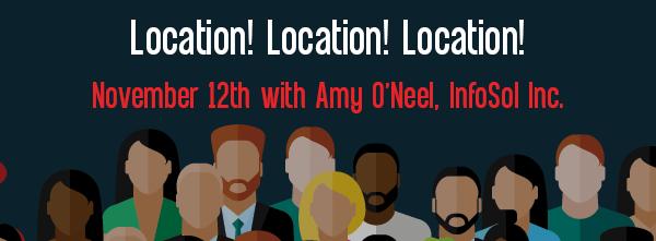 Let's Speak BO Webinar Location Location Location November 12 2019