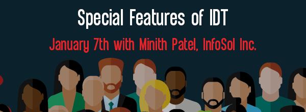 Let's Speak BO Webinar Special Features of IDT January 7 2020