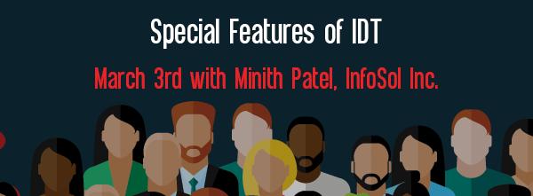 Let's Speak BO Webinar Special Features of IDT March 3 2019