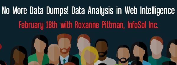 Let's Speak BO Webinar No More Data Dumps! Data Analysis in Web Intelligence February 18 2020
