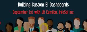 Let's Speak BO Webinar Building Custom BI Dashboards September 1st 2020