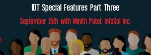 Let's Speak BO Webinar IDT Special Features Part Three September 15 2020