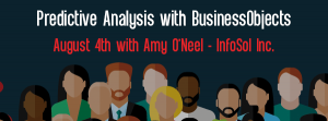 Let's Speak BO Webinar Predictive Analysis with BusinessObjects August 4 2020