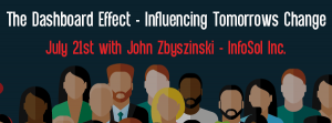 Let's Speak BO Webinar The Dashboard Effect - Influencing Tomorrows Change July 21 2020