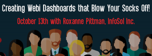 Let's Speak BO Webinar Creating Webi Dashboards that Blow Your Socks Off! October 13 2020