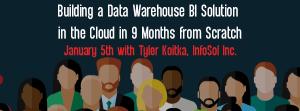 Let's Speak BO Webinar Building a Data Warehouse BI Solution January 5 2021