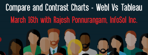 Let's Speak BO Webinar Compare and Contrast Charts - WebI Vs Tableau March 16 2021