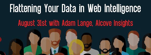 Let's Speak BO Webinar Flattening Your Data in Web Intelligence August 31 2021