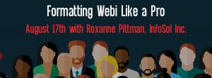 Let's Speak BO Formatting Webi Like a Pro August 17 2021